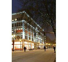 winter streetscape Photographic Print