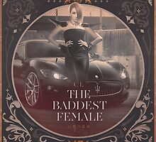 CL of 2NE1 - Baddest Female Apparel, Poster & iPad Cover by Benikari47