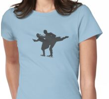 Pairs Skating Womens Fitted T-Shirt