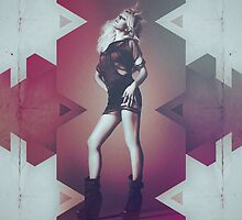 Ellie Goulding Halcyon Apparel, Poster & iPad Cover by Benikari47