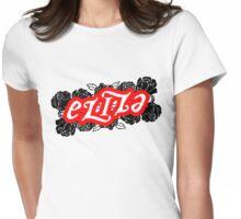 Eliza ambigram Womens Fitted T-Shirt