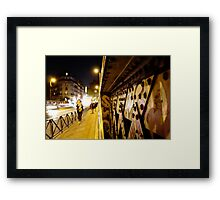 Pont Caulaincourt, Paris 18 Framed Print