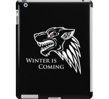Game of Thrones - House Stark Ghost iPad Case/Skin