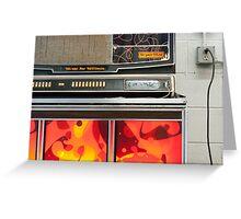 Jukebox II Greeting Card
