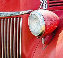 1944 Ford Pickup - Headlight by Mary Carol Story