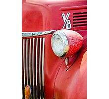 1944 Ford Pickup - Headlight Photographic Print