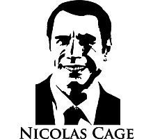 Nicolas Cage - Face/Off Photographic Print