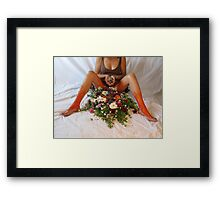Erotic Worship Yoga  Framed Print