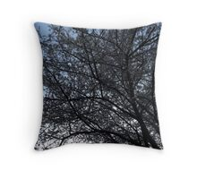 Blossom tree Throw Pillow