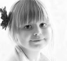 Portrait in Black And White by Evita