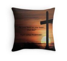 inspirational beauty Throw Pillow
