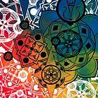 Mandala Burst by Ross Fitzpatrick
