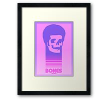 Tron Bones Framed Print
