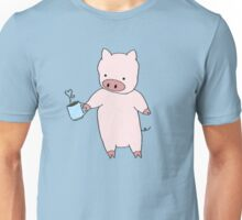 Pigs Love Coffee Unisex T-Shirt