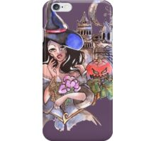 the Witch and pumpkin iPhone Case/Skin