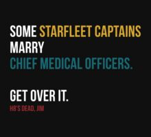 Some Starfleet Captains Marry Chief Medical Officers by sadief