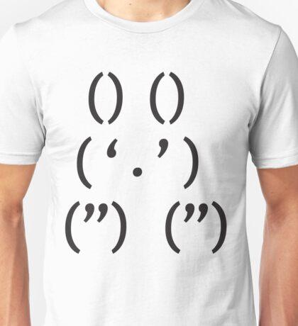 Emoticon Series: Rabbit Unisex T-Shirt