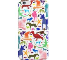 Animal Sampler iPhone Case/Skin