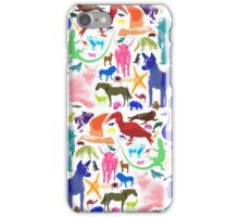 Animal Sampler iPhone Case/Skin