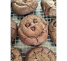 double chocolate cookies :) Photographic Print