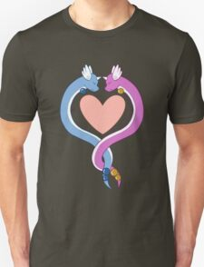 Dragonair love Unisex T-Shirt