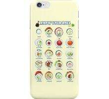 Know Your Roll - Cute Educational Sushi iPhone Case/Skin