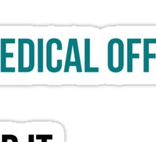 Some Starfleet Captains Marry Chief Medical Officers Light Sticker