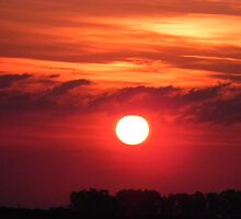 San Javiar Sunset, Santa Fe Argentina by bsauvey