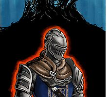 Dark Souls: Elite Knight case by MenasLG