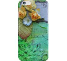 Action 2 in Green iPhone Case/Skin