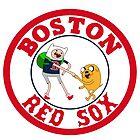 Boston red sox Adventure time by grandpakato