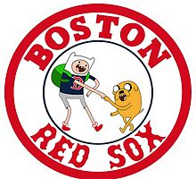 Boston red sox Adventure time by grandpakato