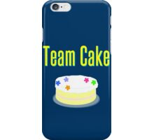 Team Cake iPhone Case/Skin
