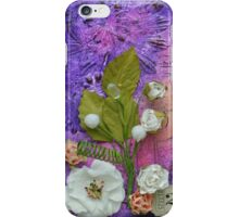 Thoughts 2 in Purple iPhone Case/Skin