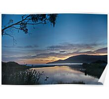 Captain Cook Creek Sunrise - Bruny Island, Tasmania, Australia Poster