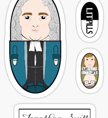 LitPills - Jonathan Swift (Classics Series) Sticker