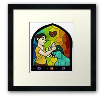 Snap Crackle Pop: Our Demon Of Perpetual Unrest Framed Print