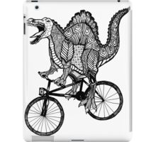 Spinosaurus Aztec Bicycle iPad Case/Skin