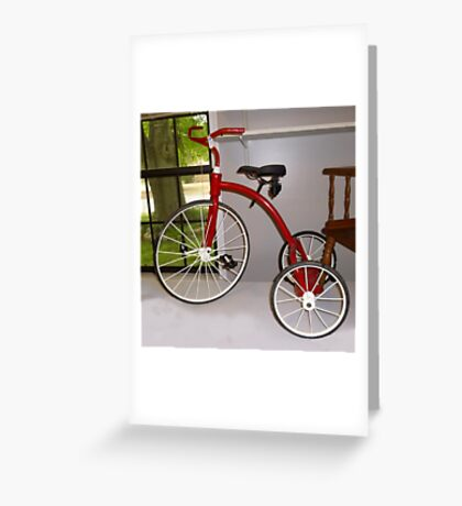 Baby Boomer Dream Ride Greeting Card