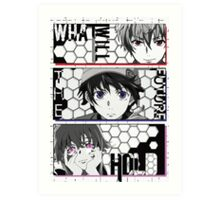 What Will The Future Hold - Future Diary Art Print
