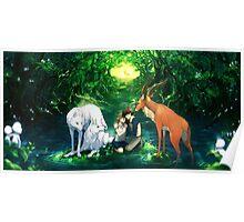 Princess Mononoke - Sacred Forest Poster