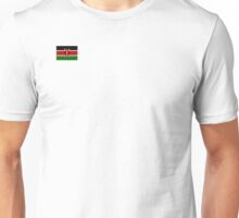 Kenyan Flag long sleeve Unisex T-Shirt