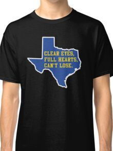 Clear Eyes, Full Hearts, Can't Lose – Friday Night Lights Classic T-Shirt