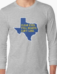 Clear Eyes, Full Hearts, Can't Lose – Friday Night Lights Long Sleeve T-Shirt