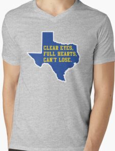 Clear Eyes, Full Hearts, Can't Lose – Friday Night Lights Mens V-Neck T-Shirt