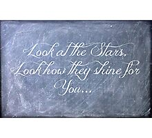 Look at the Stars Photographic Print