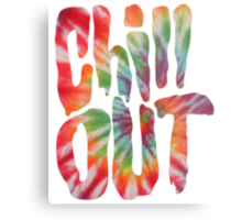 Chill Out Metal Print