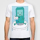 BMO Bathroom Fun Graphic Tee - Adventure Time by Patricia Feaster-Kimmerle
