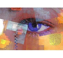 An eye for abstract Photographic Print
