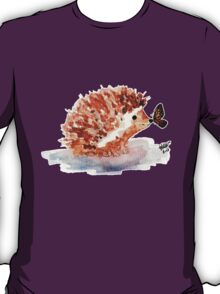 Hedgehog and Butterfly Kisses T-Shirt